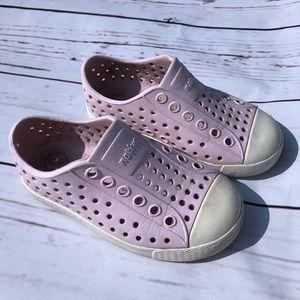 Girls Native Jefferson Shoes - Pink - Size 7